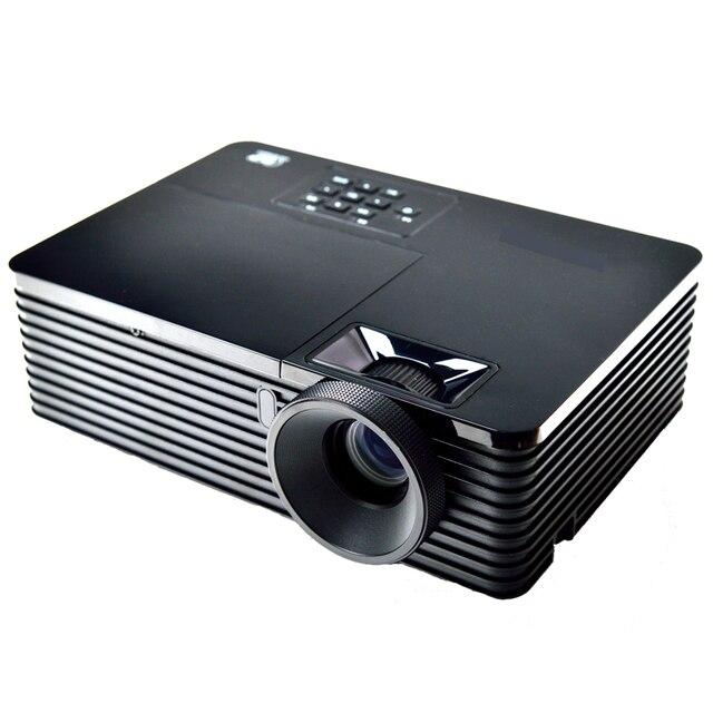 Фабрика продажа 5500 Люмен 3d dlp проектор зумом 1.1X HD 1024x768 vga данных показать Цифровой портативный накладные HDMI 1080 P Проэктор