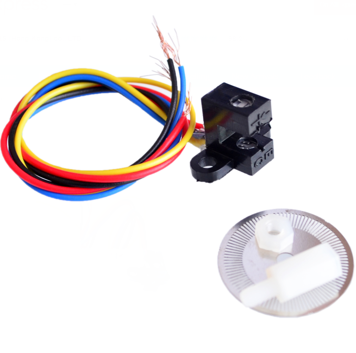 US $2 46 7% OFF|Photoelectric Speed Sensor Encoder Coded Disc code wheel  Smart car-in Integrated Circuits from Electronic Components & Supplies on