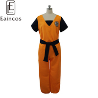 Anime Dragon Ball Son Goku/Master Roshi Cosplay Halloween Party Costume Unisex Fancy Dress Full Set