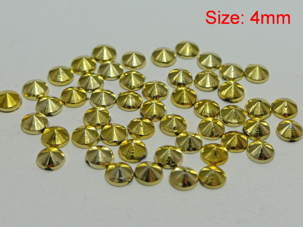 Acrylic Stones Manufacturers Mail: Aliexpress.com : Buy 1000 Golden Acrylic Round Pyramid