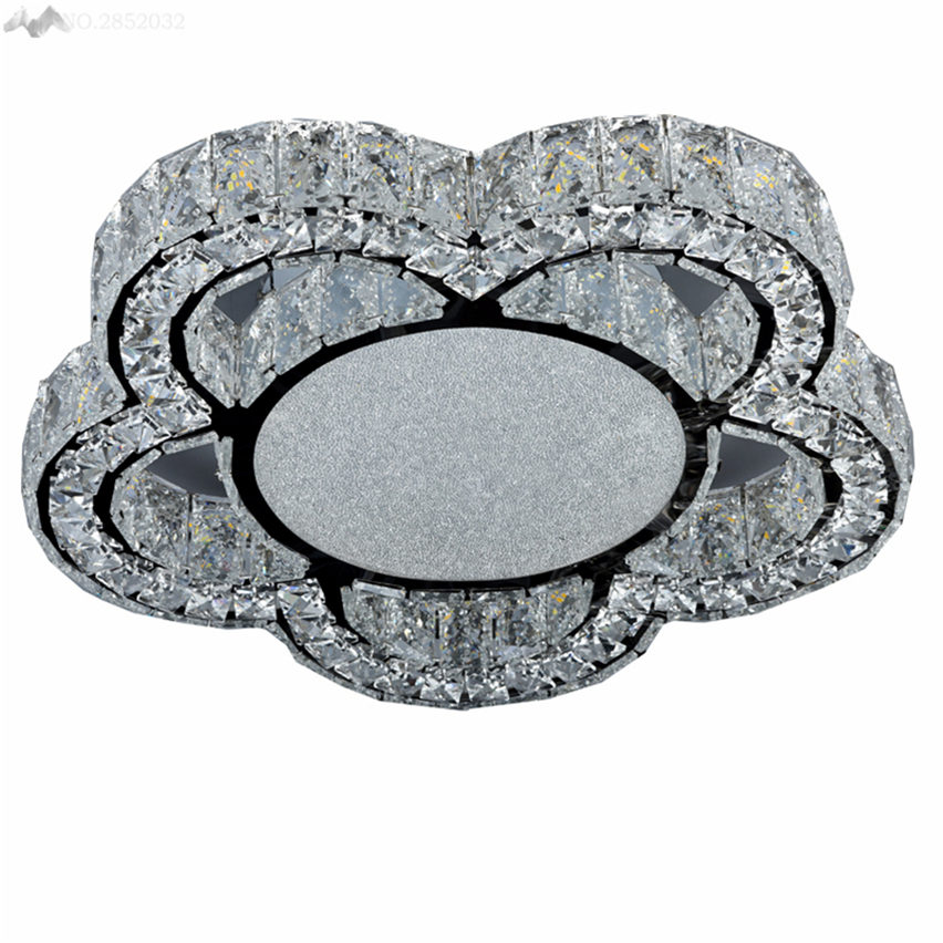 Luxury European Ceiling For Modern Home: JW_New Luxury Modern Flower Crystal Ceiling Lamps Crystal