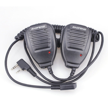 5PCS Walkie Talkie Baofeng Speaker MIC For r Kenwood TYT Pof