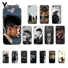 Yinuoda Peaky Blinders Tv Custom Photo Soft Phone Case for iPhone 8 7 6 6S Plus X XS MAX 5 5S SE XR 10 Cover Fundas Capa