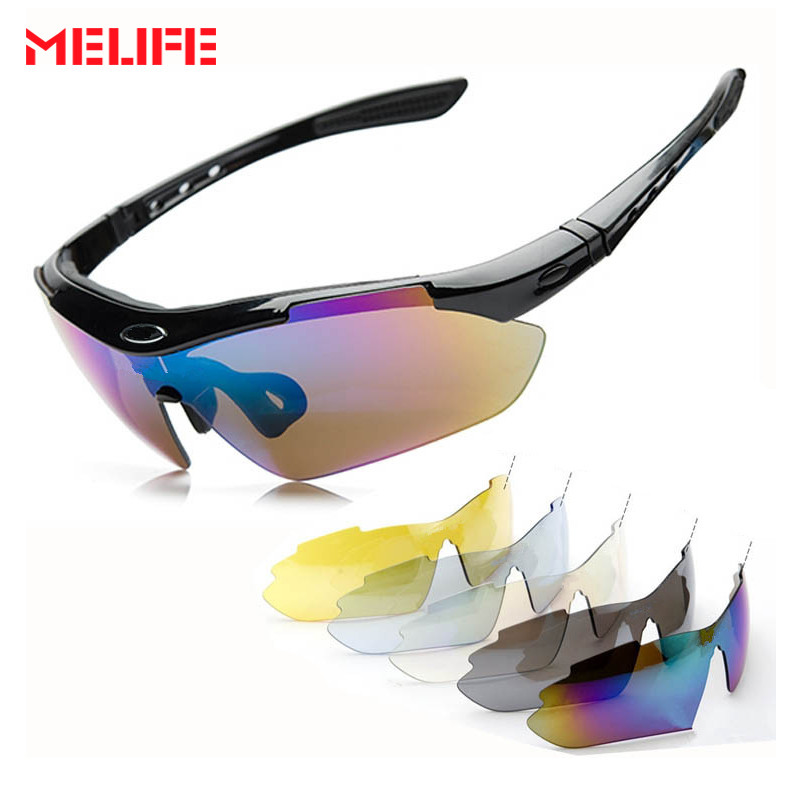 1c85a9f6729 Detail Feedback Questions about MELIFE Professional Ski Eyewear Cycling  Glasses 5 Lens Windproof Anti fog Outdoor Sports Fishing Bicycle Sunglasses  UV 400 ...