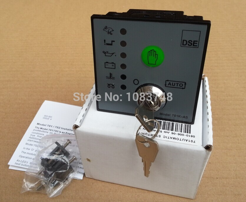 Auto start DSE701 AS,Manual start DSE701 MS +FREE SHIPPING EMS,FEDEX brand new 150 c85nbd soft start with free dhl ems