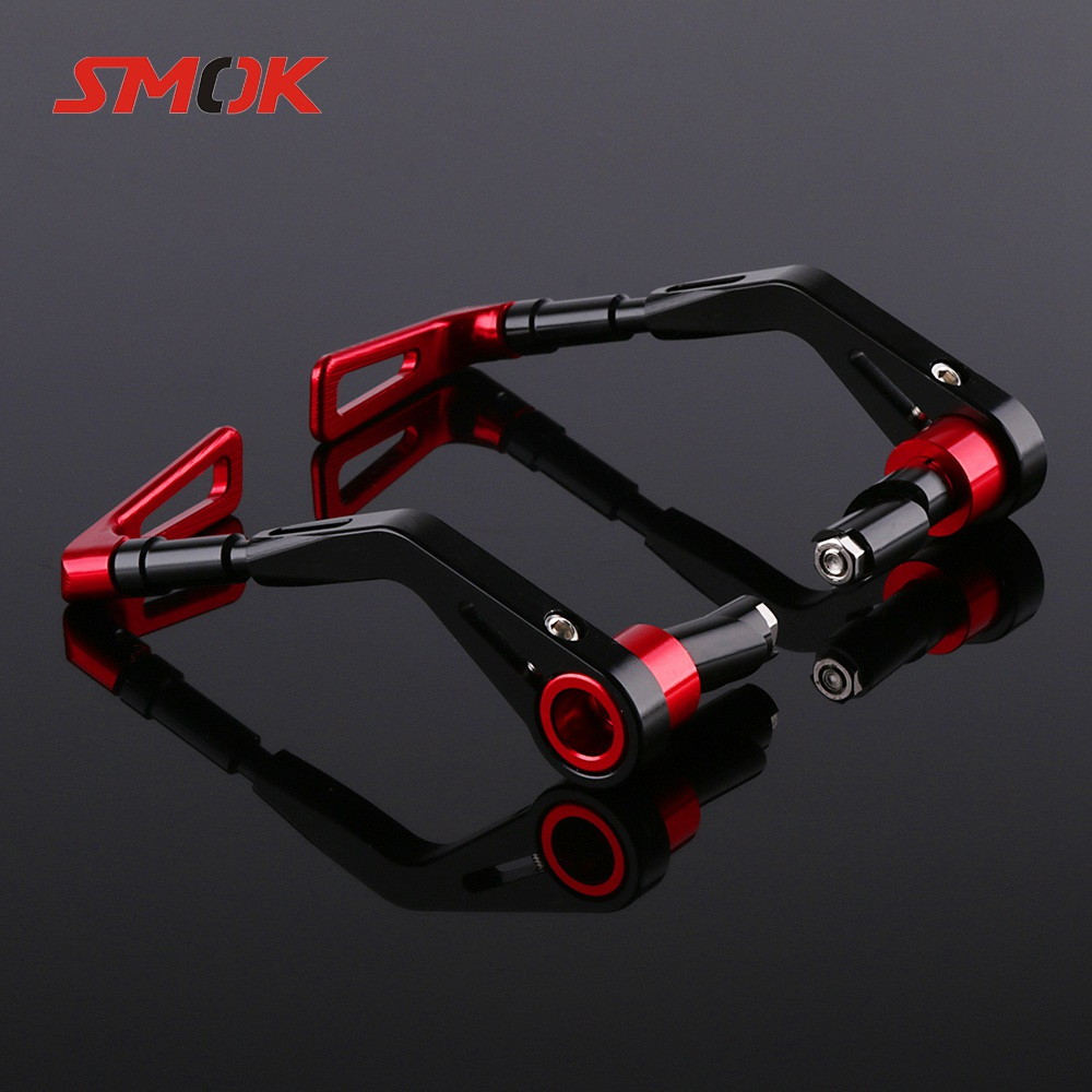 SMOK Universal 14mm-17mm Motorcycle Handlebar Hand Guards For Yamaha MT07 MT 07 MT-07 BMW R1200GS LC ER6N <font><b>Benelli</b></font> 600 <font><b>TNT</b></font> 300 image