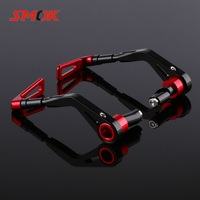 SMOK Universal 14mm 17mm Motorcycle Handlebar Hand Guards For Yamaha MT07 MT 07 MT 07 BMW R1200GS LC ER6N Benelli 600 TNT 300