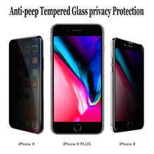 [2 pack] Impactstrong 10D Full Cover Anti-peeping Tempered Glass privacy Protection for Iphone 7 7plus 8 8plus X XS XR