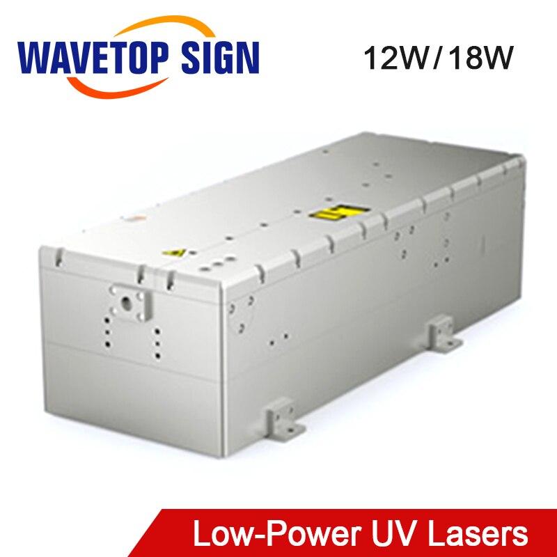 WaveTopSign 355nm 12W 18W Poplar Low-Power Nanosecond UV Lasers Module Use For UV Laser Marking Machine