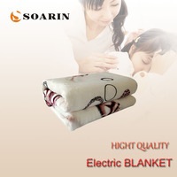 SOARIN Electric Blanket 150x70cm Electric Heating Blanket 220v Heated Mattress Body Warmer Frazadas Electricas Good Heat Heater