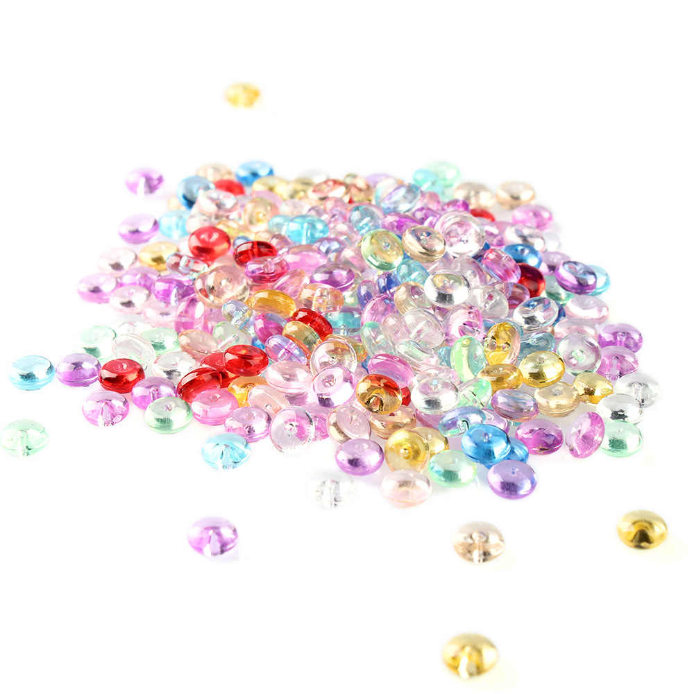 500pcs/Bag 7mm Fishbowl Pearl Beads DIY Slime Decoration Diameter 7mm For Craft Tools Photo Ablum Vase Beautiful Home Decoration