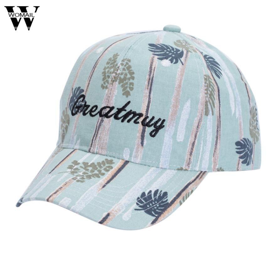 2017 Womens Sports Baseball Cap Snapback Golf ball Hip-Hop Hat