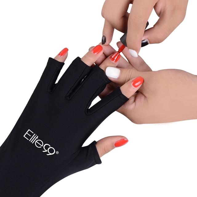 Elite99 Anti UV Handschuhe UV Schild Handschuh Finger Maniküre Nail art Werkzeuge LED UV Lampe Nagel Trockner Strahlung Schutz 1 paar