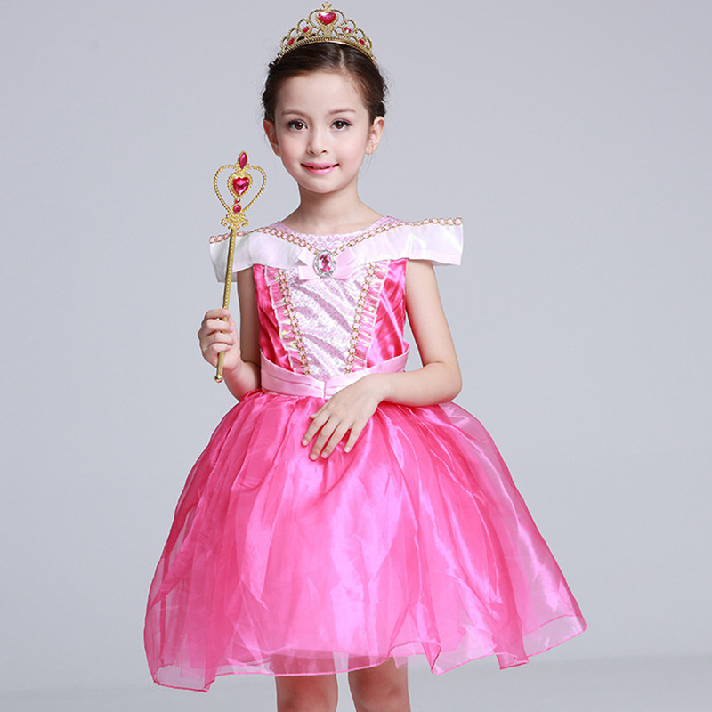 Girls Sleeping Beauty Princess Cosplay Party Dresses Children Aurora Costume Clothing Kids Tutu Dress for Christmas-in Dresses from Mother u0026 Kids on ...  sc 1 st  AliExpress.com & Girls Sleeping Beauty Princess Cosplay Party Dresses Children Aurora ...