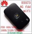 4g fdd toda banda desbloqueado huawei e5573 bolsillo mifi router wifi 4g lte mobile Hotspot router Inalámbrico dongle pk e5878 e5577 e5372