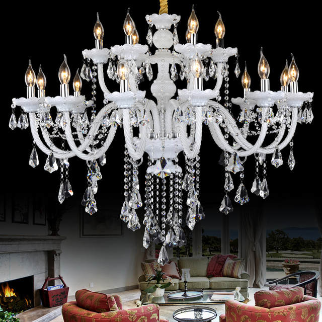 Lamps Empire Crystal Chandelier Light
