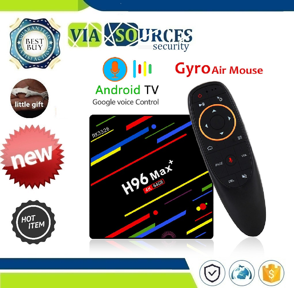 RK3328 Quad core 5G Wifi 4K H.265 Media Player H96 Pro H2 PK X96 H96 MAX Plus TV Box Android 8.1 4GB 32GB 64GB Smart Set Top BoxRK3328 Quad core 5G Wifi 4K H.265 Media Player H96 Pro H2 PK X96 H96 MAX Plus TV Box Android 8.1 4GB 32GB 64GB Smart Set Top Box