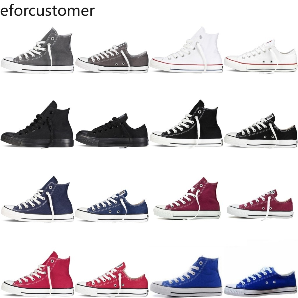 Trainers-Shoes Athletic-Sneakers Allstar Canvas High-Tops Designer Unisex Womens Casual