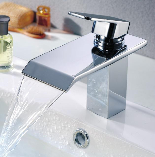 Duck tongue type / brand bathroom type water faucet / waterfall ...