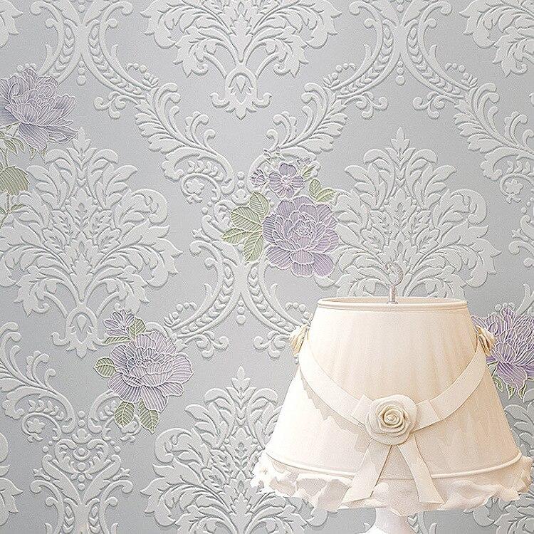 moderne tapeten schlafzimmer kaufen grohandel pink tapeten aus china - Vintage Lila Schlafzimmer