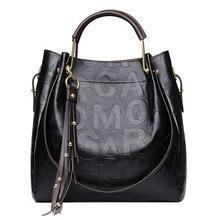 2017New mode uxury Designer hohe kapazität handtaschen Aus Echtem leder frauen tasche handtasche Schulter dame umhängetasche