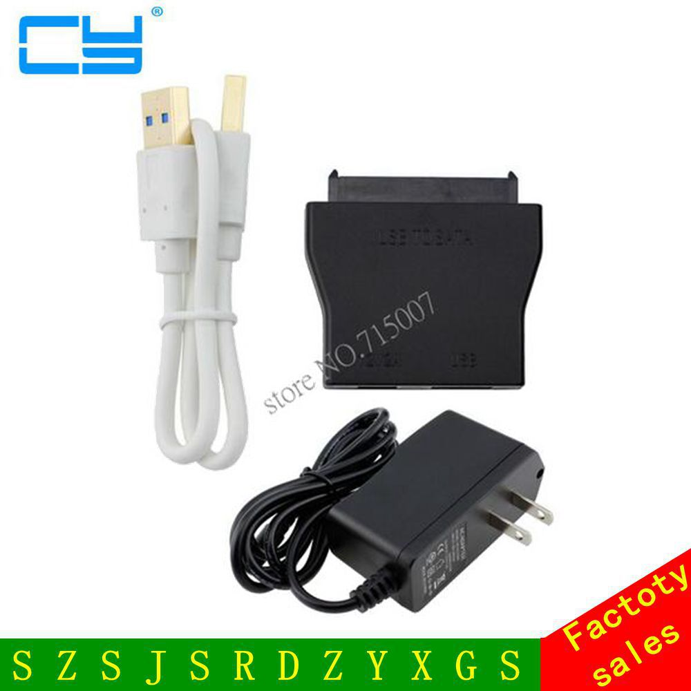 USB 3.0 TO 22PIN SATA 3.0 Female 6Gb Hard Disk Drive Cable External 2.5 3.5 HDD SSD Adapter USB3.0 to SATA Converter