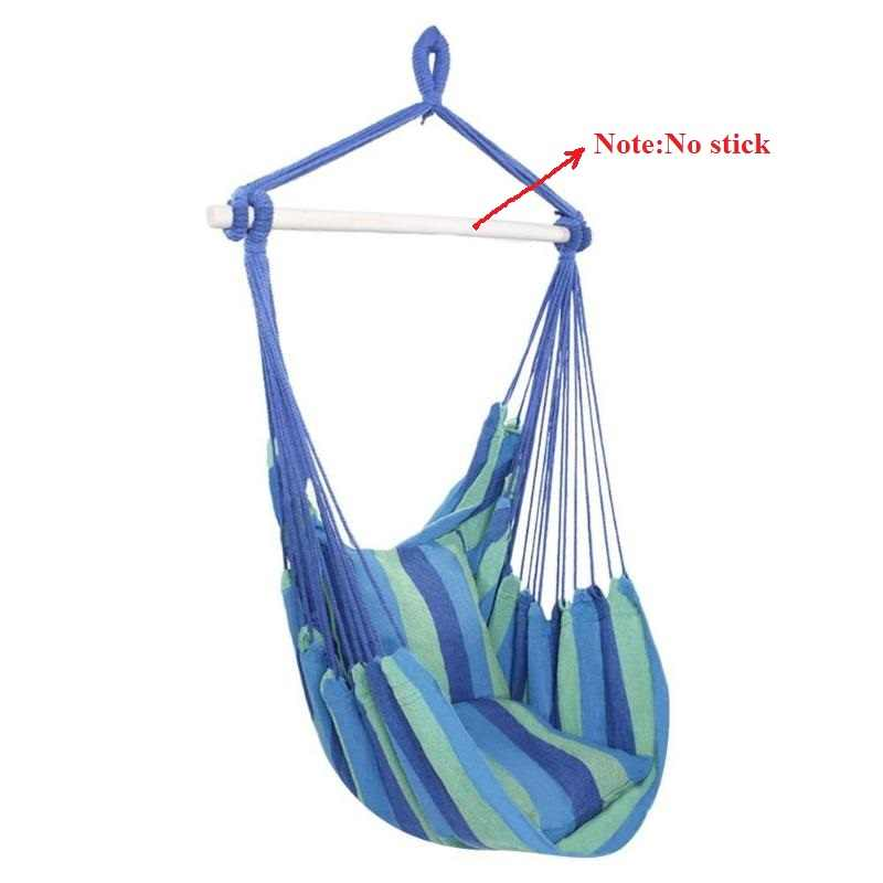 Awesome Hammock Chair Hanging Chair Swing With 2 Pillows For Outdoor Garden Adults Kids Hammock Chair Hanging Chair Drop Ship Creativecarmelina Interior Chair Design Creativecarmelinacom