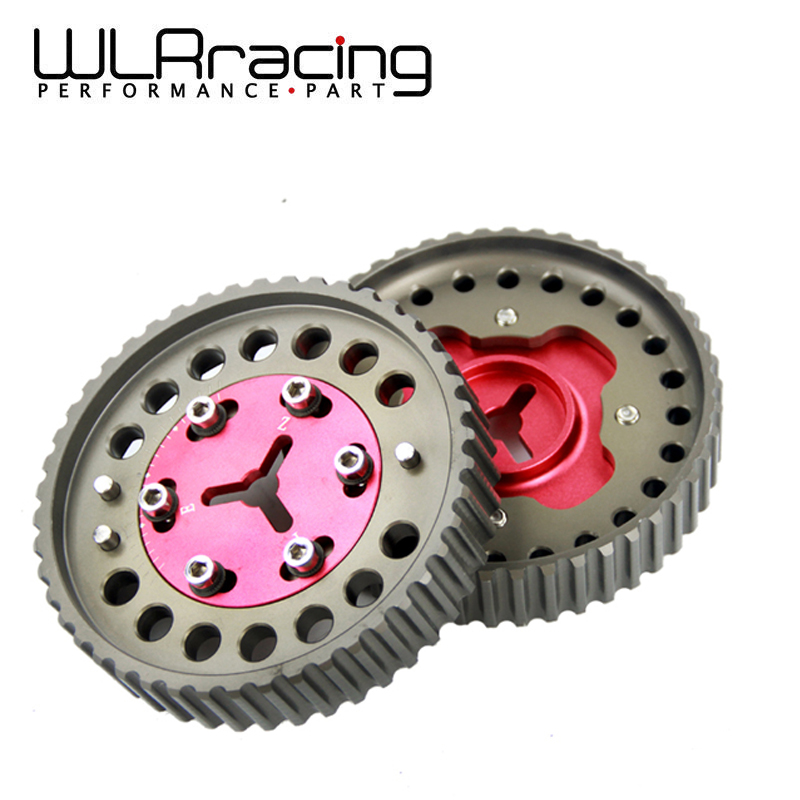 WLR RACING - Cam Gear Pulley Pair For Mazda MX-5 / MX5 BP6/BP8 NB6/8 Camshaft Gears Red WLR6539R
