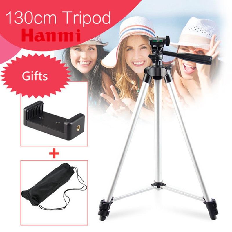 Hanmi Tripode Smartphone Tripode Movil Camera Tripod For Phone Professional Fishing Tripod For Canon Sony Nikon