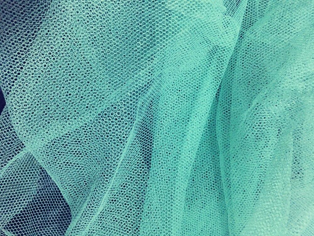 Aliexpress Com Buy Mint Green Mesh Fabric Soft Gauze