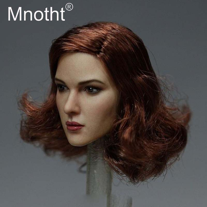 Mnotht Toys Mnotht 1:6 Scale Female Head Carving Model KT011 Wertern Beauty Head Sculpt Toys Fit For PH/HT/VERYCOOL/TTL Body m3 mnotht toys 1 6 vivian hsu head sculpt female asian beauty head carving model fit for 12in ph ht female soldier body m3