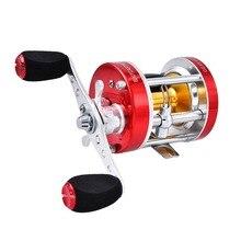 KastKing 2017 New Right Left Handed Fishing Baitcasting Reel Super Light 5.3:1 Metal Body Round Fishing Reel peaca wheel