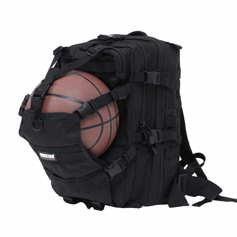 Nueva mochila impermeable de poliéster D para deportes al aire libre, bolsa de casco de gran capacidad para ciclismo, senderismo, caza, Softback