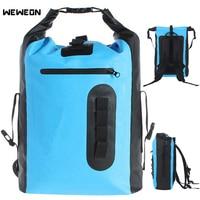 8L 30L водонепроницаемый заплечный гермомешок для каякинга рафтинг дрейфующий Открытый Водонепроницаемый Сухой вместительная сумка для хра...