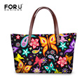 FORUDESIGNS 2017 Fashion Women Large Handbags 3D Animal Butterfly Print Large Messenger Bags for Ladies Shoulder Bags Crossbody