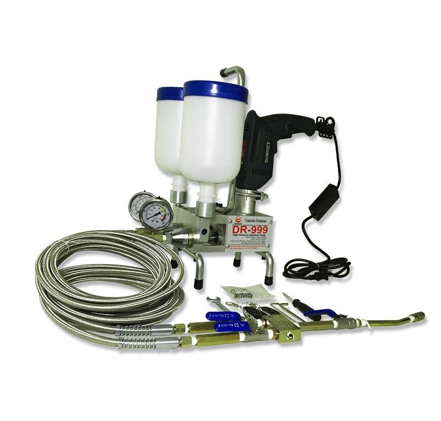 Премиум эпоксидный насос для литья плит, пенополиуретановый беспроводной пульт дистанционного управления, машина для затирки, двойной эле