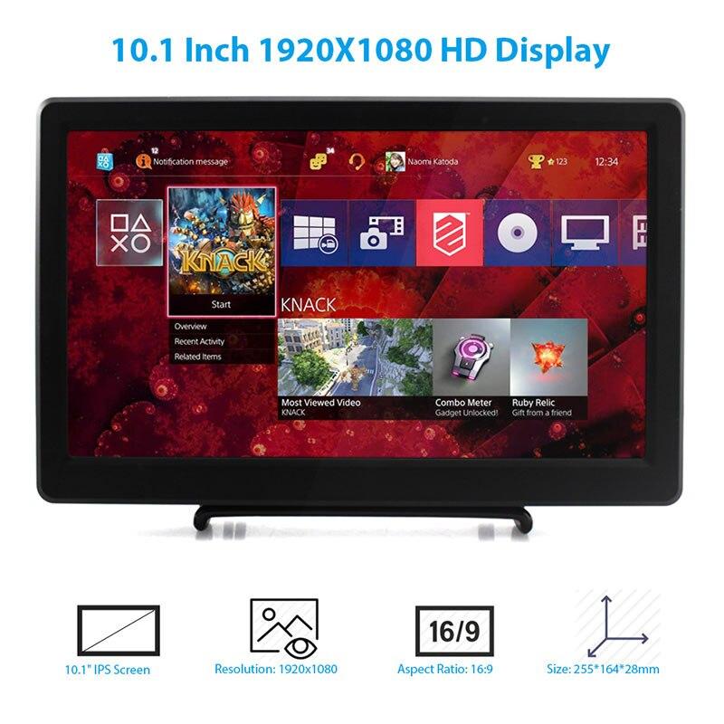 Купить elecrow 101 дюймовый hd светодиодный дисплей 1920x1080p ips