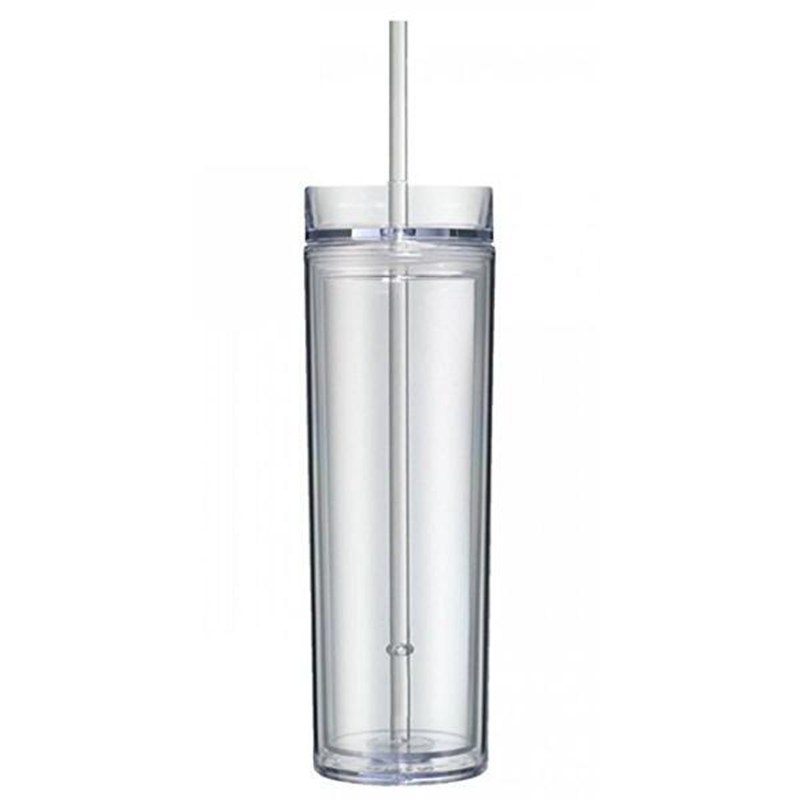 Cold Drink Tumbler With Straw
