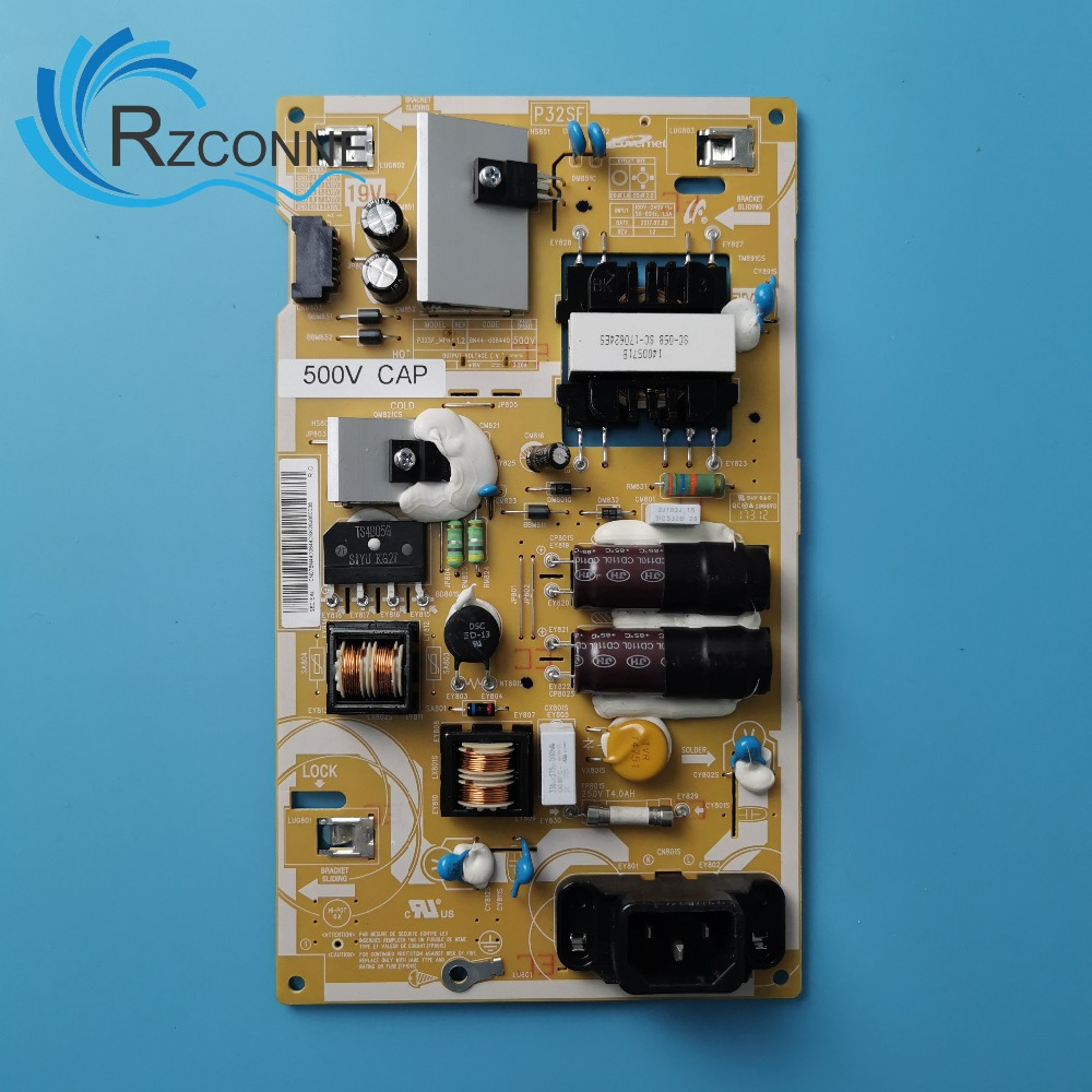 Power Board Card Supply For Samsung P32SF_MPN BN44-00844D 500V CAP HG32EE460FK HG32EE470FK