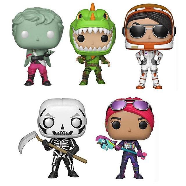 FUNKO POP Quinzena Anjo Rex Bombardeiro Ranger Crânio Soldado Figura de Vinil Bonecas Modelo Jogo Batalha Rayle Figura Brinquedos Presentes