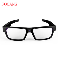 FOOANG Mini Camcorders Smart Glasses Portable DV Video Recorder Microphone HD 1080p View 120 Records Touch