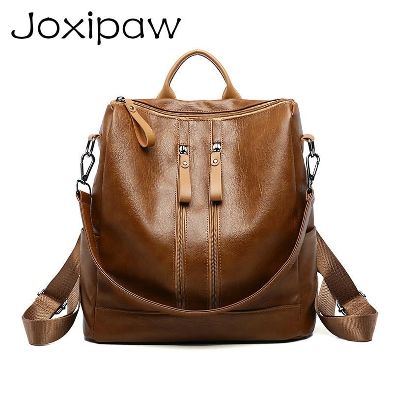 2018 New Women Backpacks PU Back pack High Quality Female Shoulder bag School Backpack For Teenagers Girls Travel bags Mochila