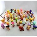 MINI Boneca de Lote 20 PCS Brinquedos Da Menina Da Criança Presente LPS Littlest Pet Shop Cão Solto