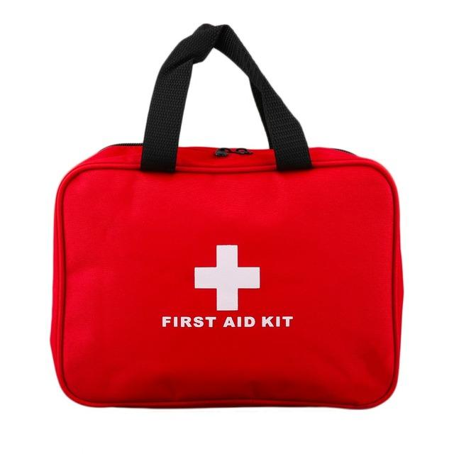 Novo kit de Primeiros Socorros Saco Kit Casa de Viagem de Acampamento Ao Ar Livre Sobrevivência De Resgate De Emergência Médica de Primeiros Socorros Caso Bolsa Vermelha