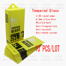 Wholesale 10pcs/lot FENGHEMEI Privacy Tempered Glass Protector For iPhone 6 S Clear Black Anti Peeking With Retail Package