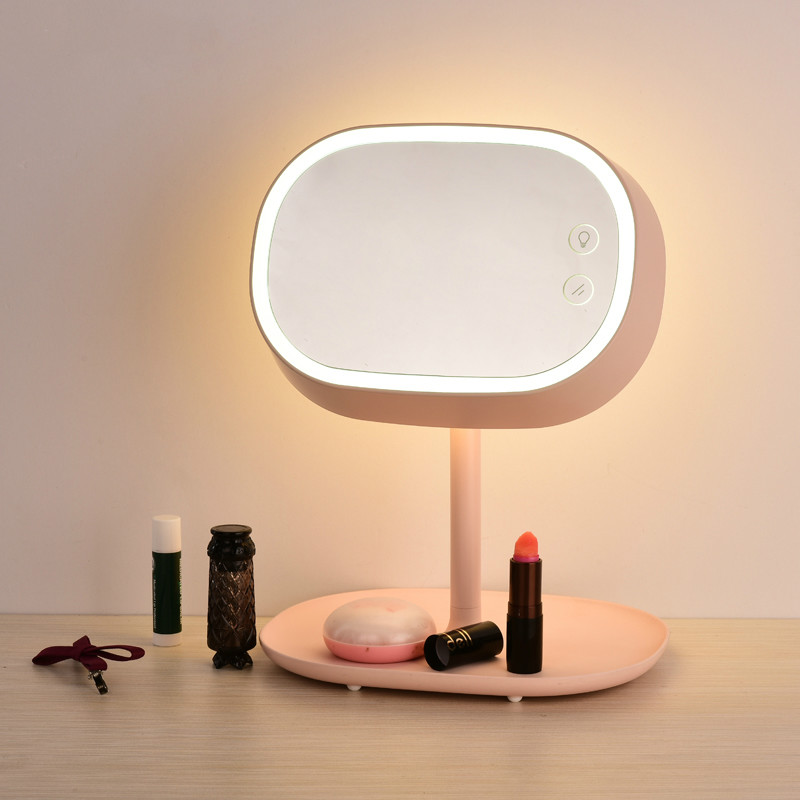 Modern Simple Rotatable Mirror Led Table Lamp Creative Bedroom Led Table Light Table Lights Novelty Led Table Lighting FixturesModern Simple Rotatable Mirror Led Table Lamp Creative Bedroom Led Table Light Table Lights Novelty Led Table Lighting Fixtures