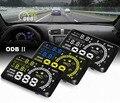 """5.5 """"gran Pantalla de Auto Car HUD Head Up Display KM/h MPH Sobrevelocidad Advertencia Parabrisas Proyector Sistema de Alarma OBD 2 puerto CY114-CN"""