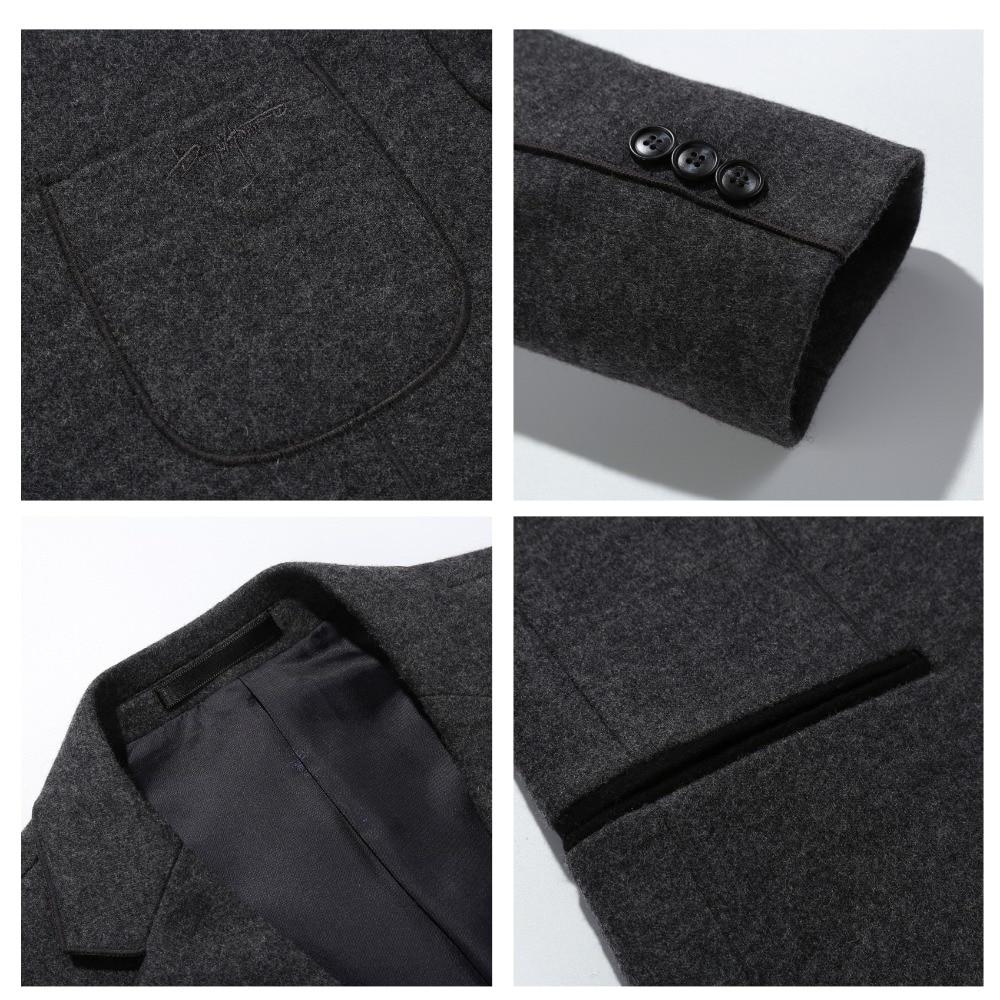 N & B мужской костюм куртка платье, блейзер Для мужчин s сюртук Человек платье Slim Fit повседневный мужской блейзер ночной клубный пиджак костюмы для Для мужчин SR11 - 4