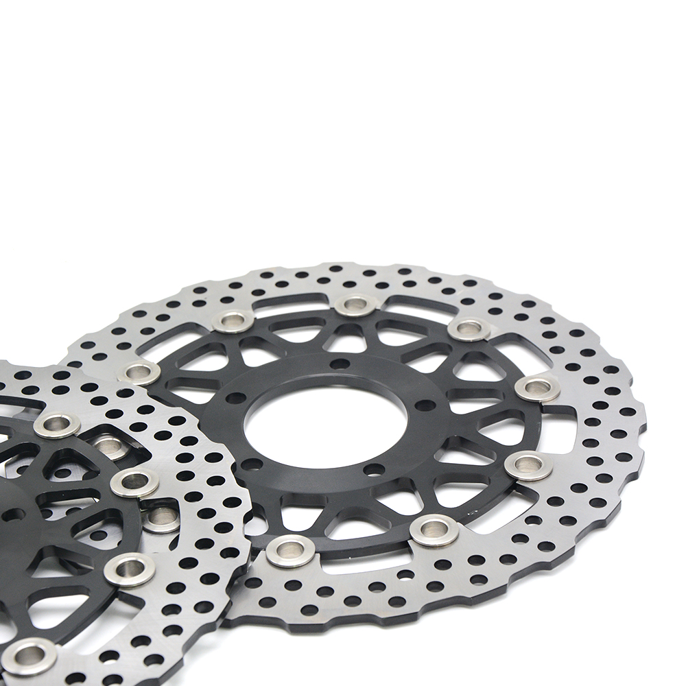 Hot sale motorcycle Front Brake Disc Rotor For KAWASAKI ZZR-ZX14R ABS NINJA 1400CC model year 2008 2009 2010 2011 2012 2013 2014 цена