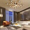 Kaffee farbe moderne led kronleuchter große luxus wohnzimmer schlafzimmer esszimmer studie aluminium legierung innen kronleuchter beleuchtung|Deckenleuchten|Licht & Beleuchtung -